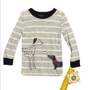 NEW Little Me Long Sleeve Pajama Top SIZE 2T